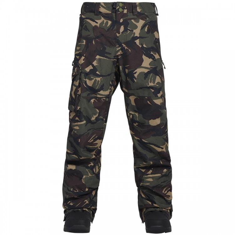 Штаны для сноуборда мужские BURTON Mb Covert Insulated Pant Seersucker Camo, Вьетнам  - купить со скидкой