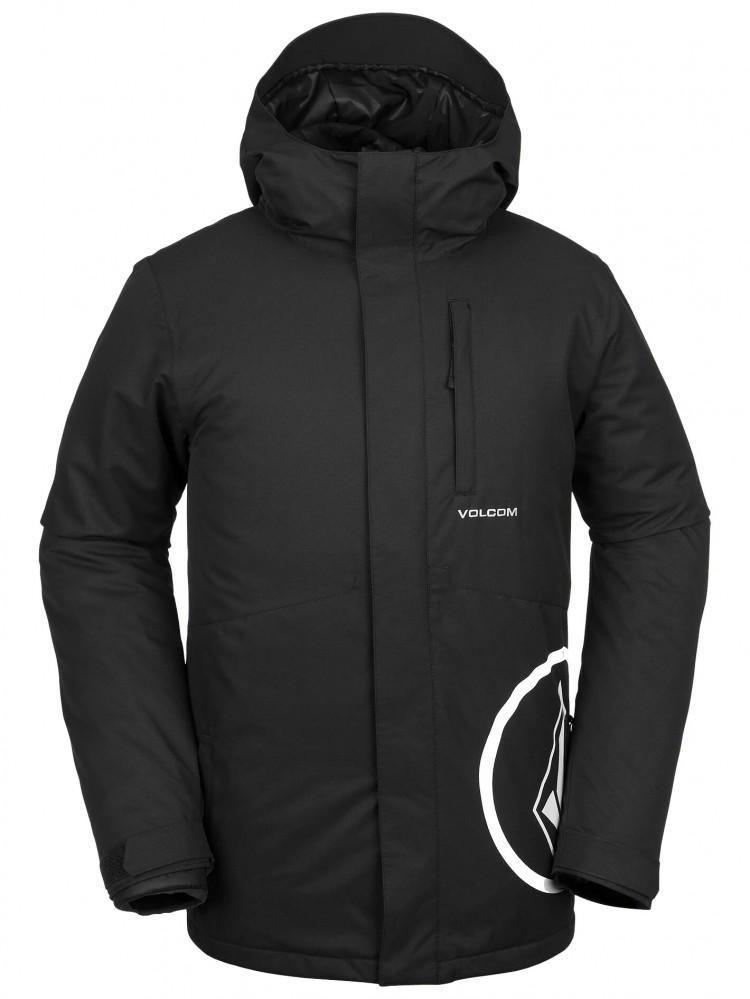 Купить Куртка для сноуборда мужская VOLCOM 17 Forty Insulated Jacket Black, Китай