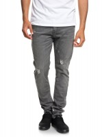 Джинсы QUIKSILVER Lobrigrdama M Grey Damaged