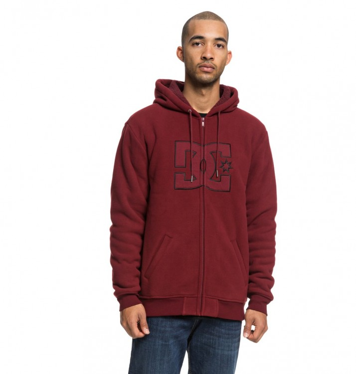Джемпер DC SHOES New Star Sherpa M Cabernet, фото 1