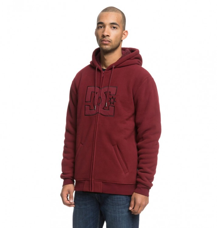 Джемпер DC SHOES New Star Sherpa M Cabernet, фото 2