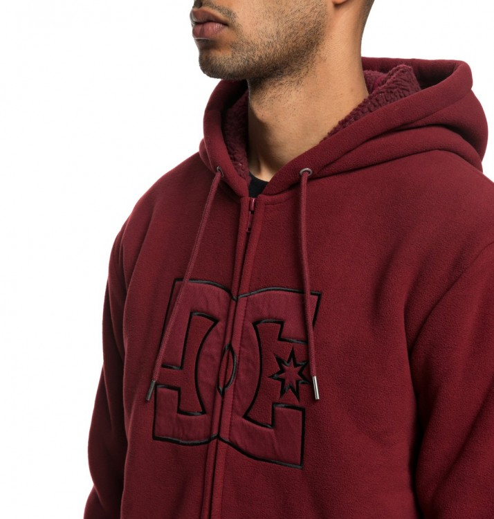 Джемпер DC SHOES New Star Sherpa M Cabernet, фото 3