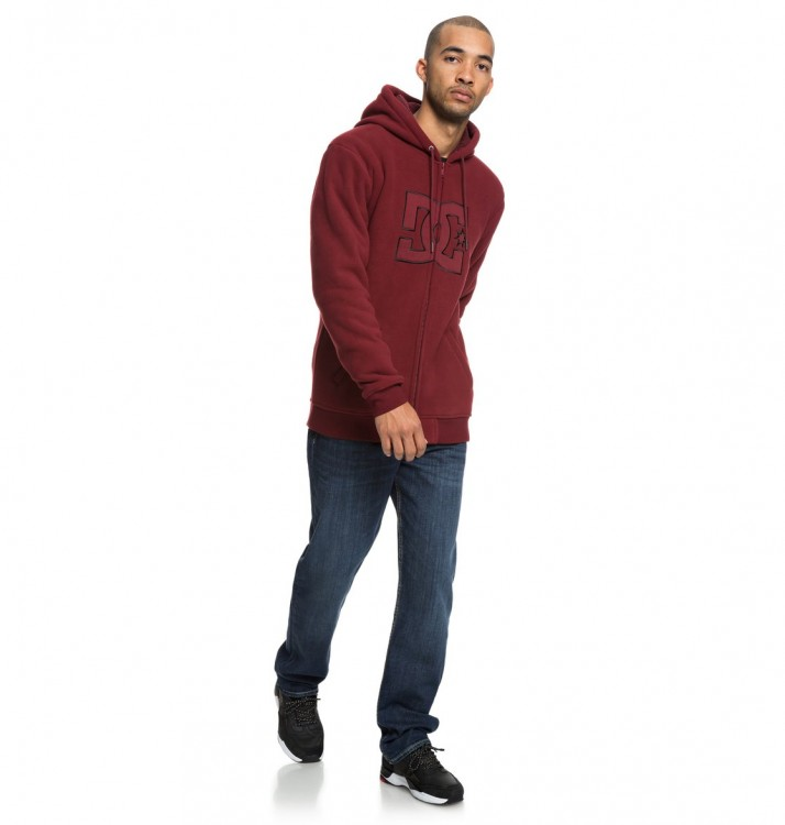 Джемпер DC SHOES New Star Sherpa M Cabernet, фото 4