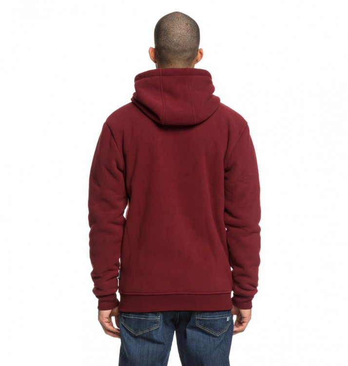 Джемпер DC SHOES New Star Sherpa M Cabernet, фото 5