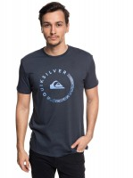 Футболка QUIKSILVER Slabsessionss M Blue Nights