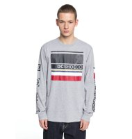 Лонгслив мужской DC SHOES Mad Racer Ls M Grey Heather