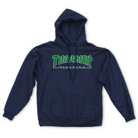 Худи THRASHER Outlined Hood Navy