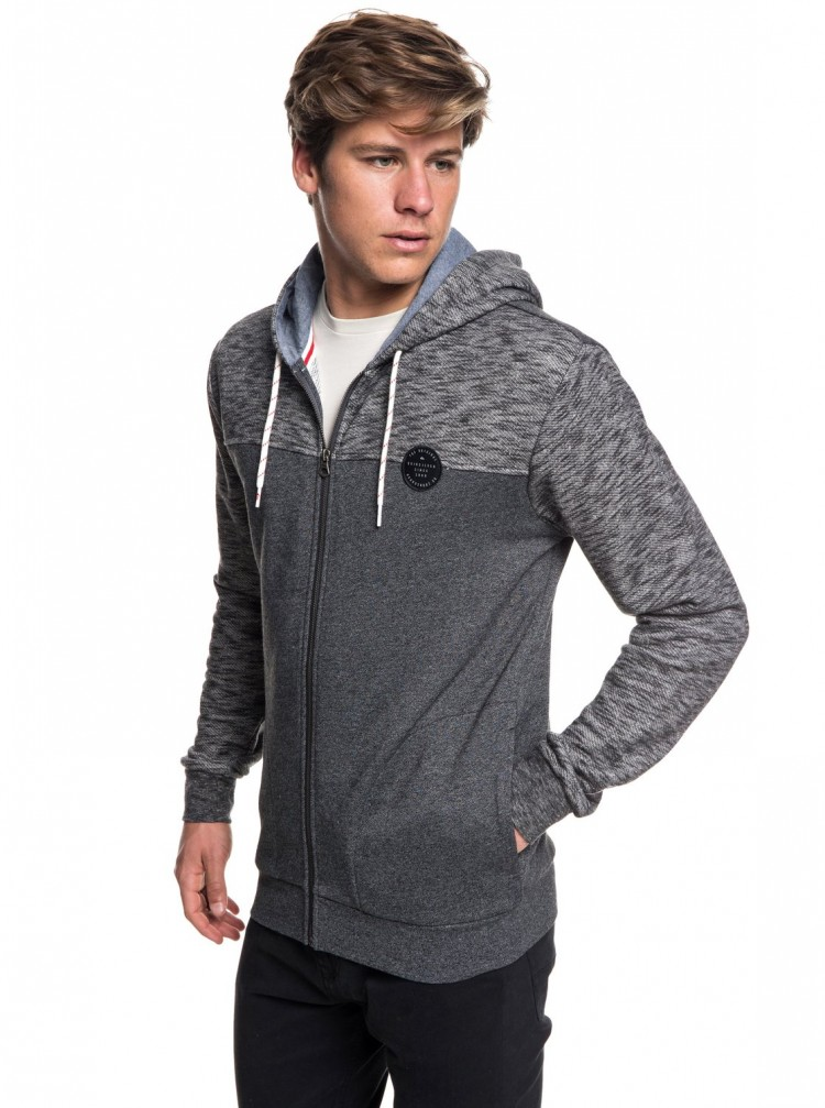Купить Кардиган QUIKSILVER Shdfleecetop2 M Dark Grey Heather, Китай