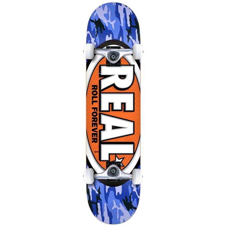 Купить Скейтборд комплект REAL SKATEBOARDS New Awol Ovals Mini 7.38 , Мексика