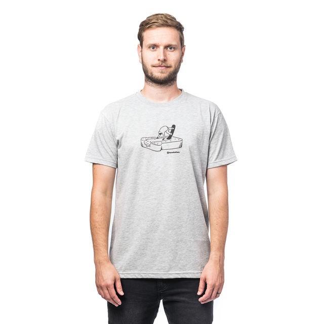 Футболка мужская HORSEFEATHERS Butter T-Shirt Ash
