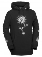 Худи для сноуборда с флисом VOLCOM Jamies Fleece Black
