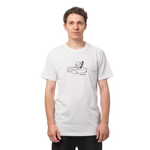 Футболка мужская HORSEFEATHERS Butter T-Shirt White