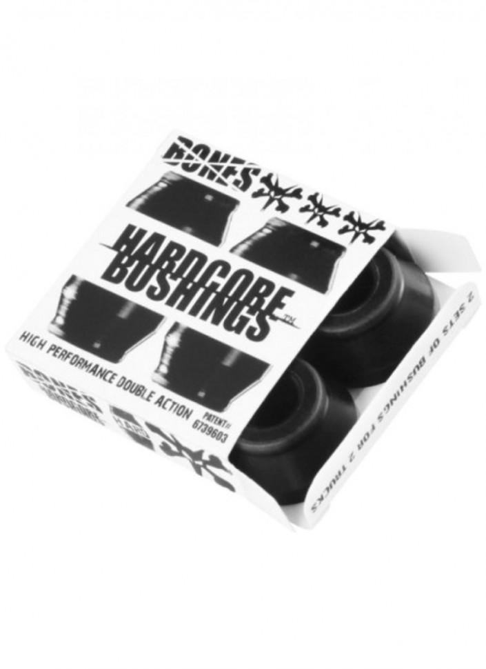 Бушинги BONES Hard Set Black/Black 96А 2020 фото