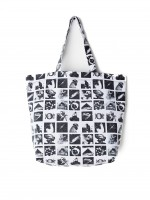Сумка OBEY Wasted Tote Bag Zine White Multi