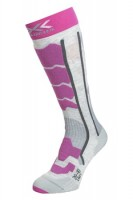 Термоноски X-SOCKS Ski Control 2.0 Lady Light Grey Melange/Violet