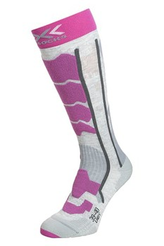 Купить Термоноски X-SOCKS Ski Control 2.0 Lady Light Grey Melange/Violet, Италия
