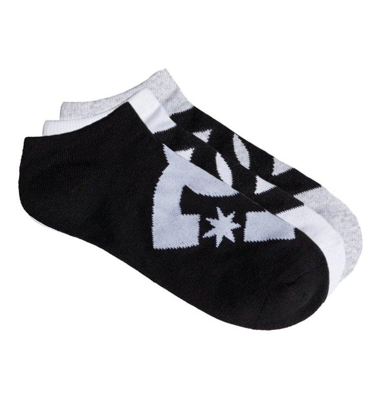 Купить Носки мужские упаковка из 3 пар DC SHOES Spp Dc Ankle 3P M Assorted, Китай