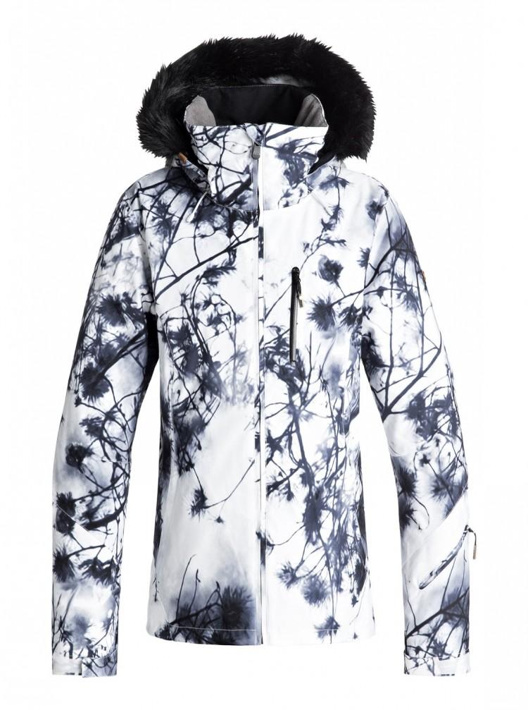 Купить Куртка для сноуборда женская ROXY Jetski Premium J Bright White_Pine Sky, Китай