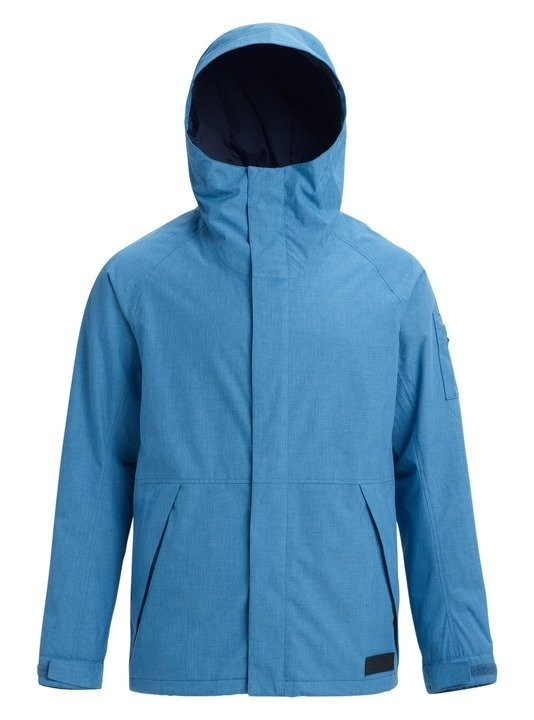 Купить Куртка для сноуборда мужская BURTON Men's Hilltop Jacket Vallarta Blue, Бангладеш