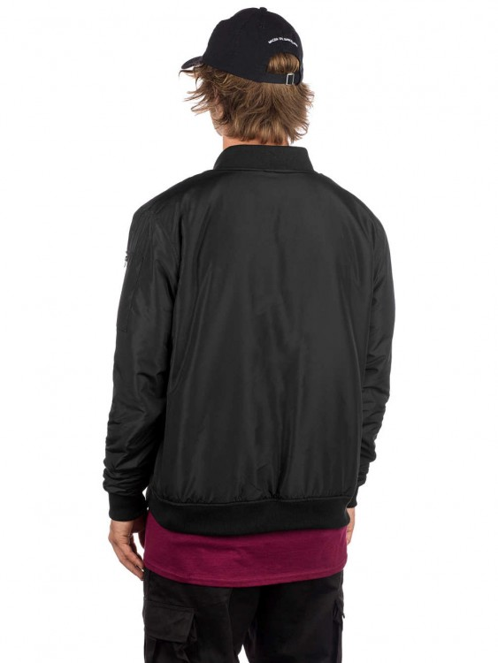 Куртка-бомбер THRASHER Bomber Jacket Black, фото 2