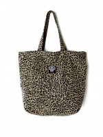 Сумка OBEY Wasted Tote Bag Leopard Khaki