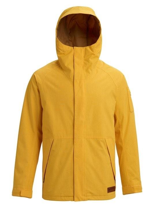 Купить Куртка для сноуборда мужская BURTON Men's Hilltop Jacket Golden Rod, Бангладеш