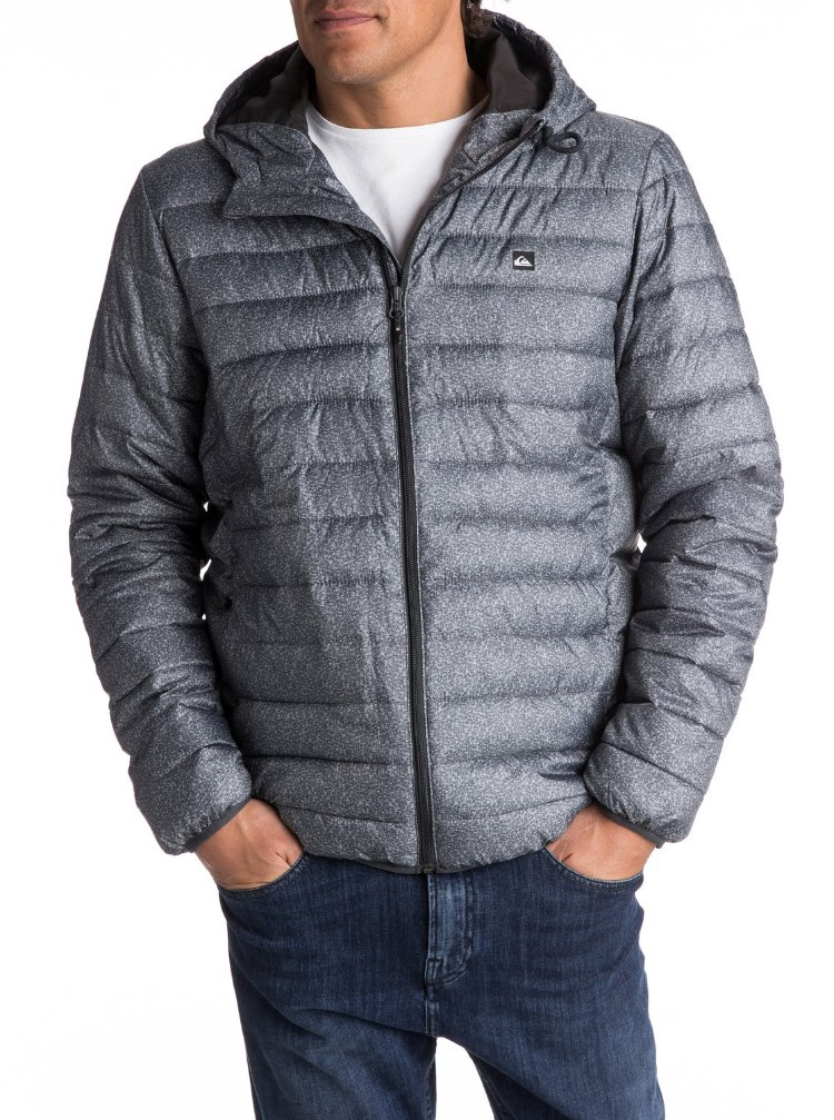 Купить Куртка мужская QUIKSILVER Everydayscaly M Dark Grey Heather Scaly, Индонезия