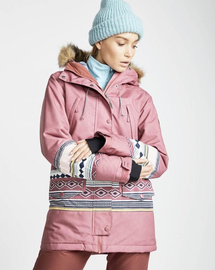 Купить Куртка для сноуборда женская BILLABONG Nora 10K Primaloft Crushd Berry, Китай