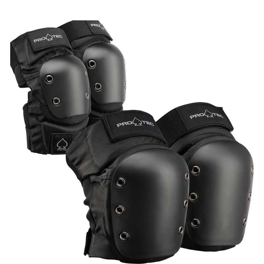 Комплект защиты PRO TEC Street Knee/Elbow Pad Set Black фото