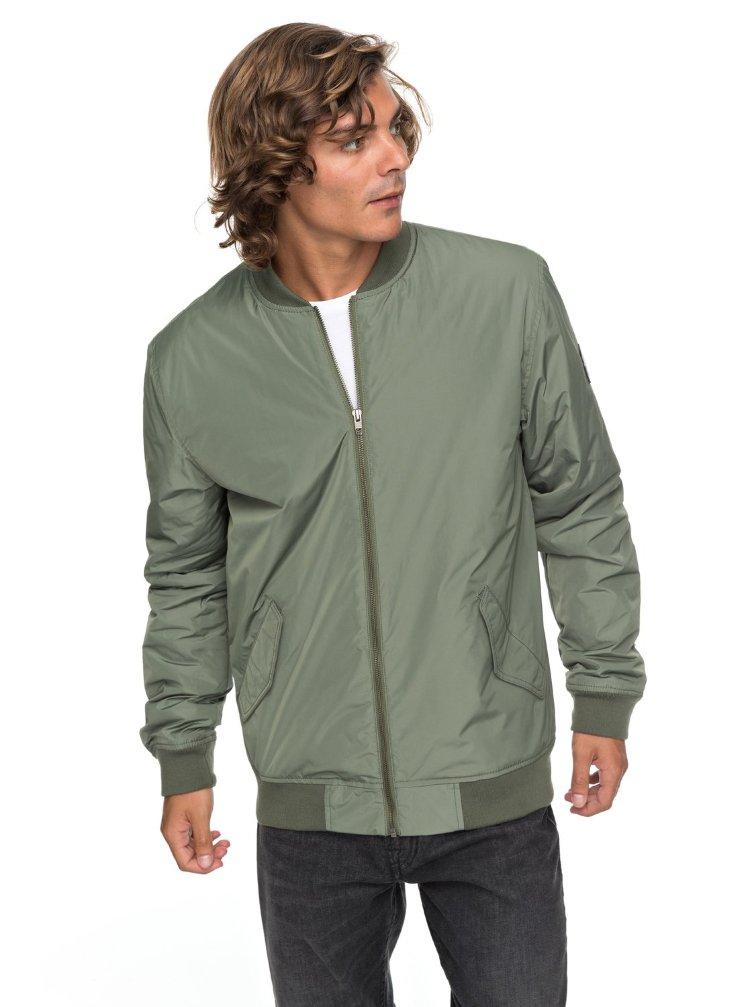 Куртка мужская QUIKSILVER Charveen M Four Leaf Clover, Индонезия  - купить со скидкой