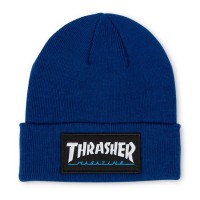 Шапка THRASHER Logo Patch Beanie Navy