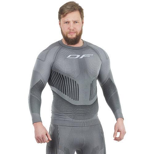 Термофутболка DRAGONFLY Df 3Dthermo  Grey 2022