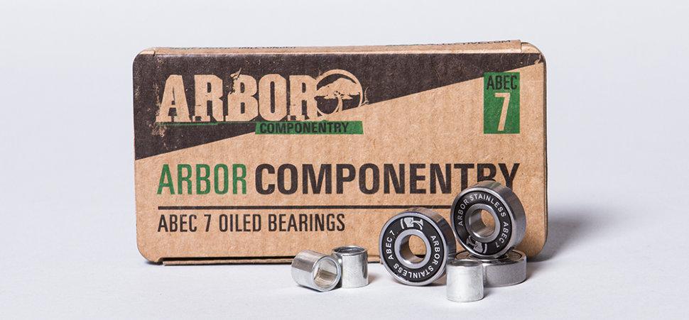 Подшипники ARBOR Abec 7 Stainless Steel (set of 8) 2017 2000000077062