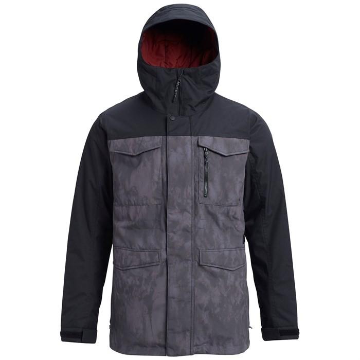 Купить Куртка для сноуборда мужская BURTON Covert Jacket Cloudshadow/Trueblack, Бангладеш