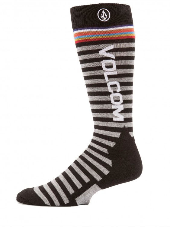 Термоноски VOLCOM Synth Sock Black, фото 2