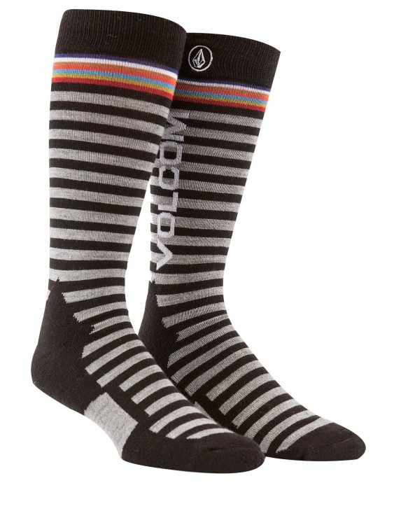 Термоноски VOLCOM Synth Sock Black, фото 1