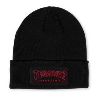 Шапка THRASHER China Banks Patch Beanie Black