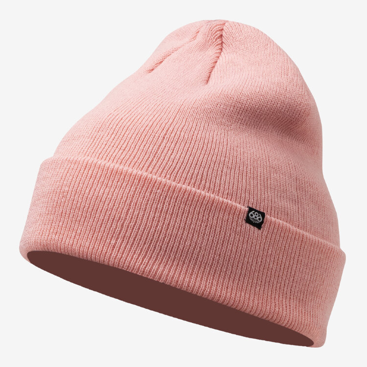Шапка 686 Standard Roll Up Beanie Dusty Pink 2021, фото 1