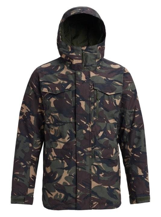 Купить Куртка для сноуборда мужская BURTON Covert Jacket Seersucker Camo, Бангладеш