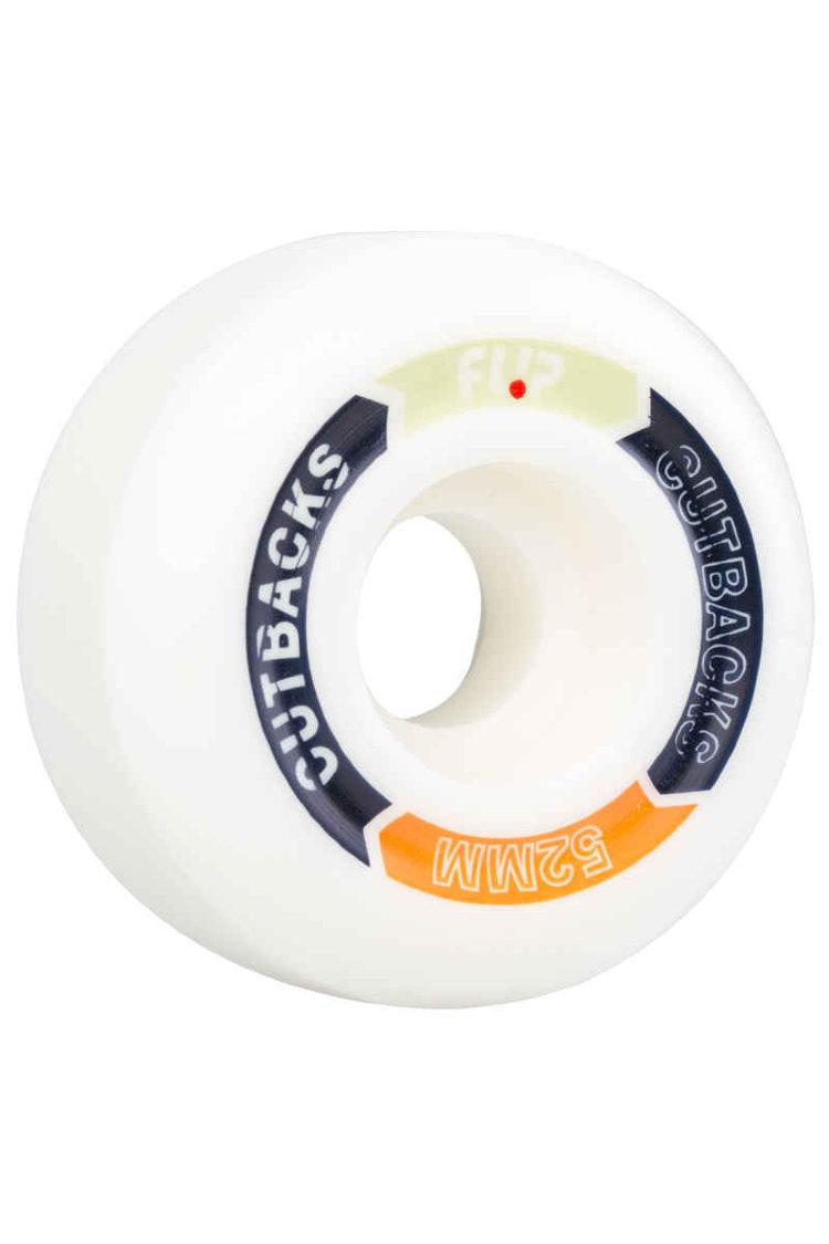 Купить Колеса для скейтборда FLIP Cutback Wheels Pack Assorted 52 mm, Испания