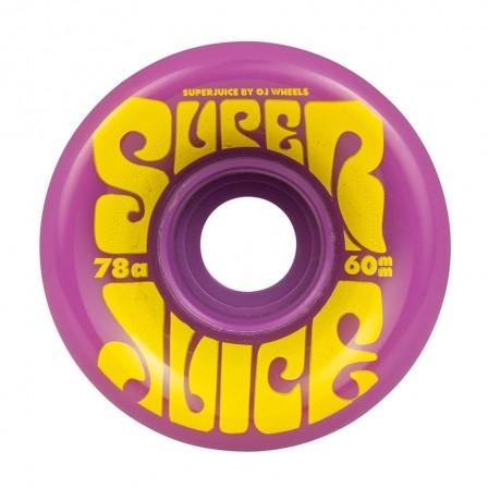 Колеса для лонгборда OJ Super Juice Purple Swirl 78a 60мм Santa Cruz