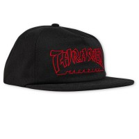 Кепка THRASHER China Banks Snapback Black
