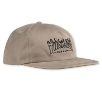 Кепка THRASHER Witch Snapback Tan