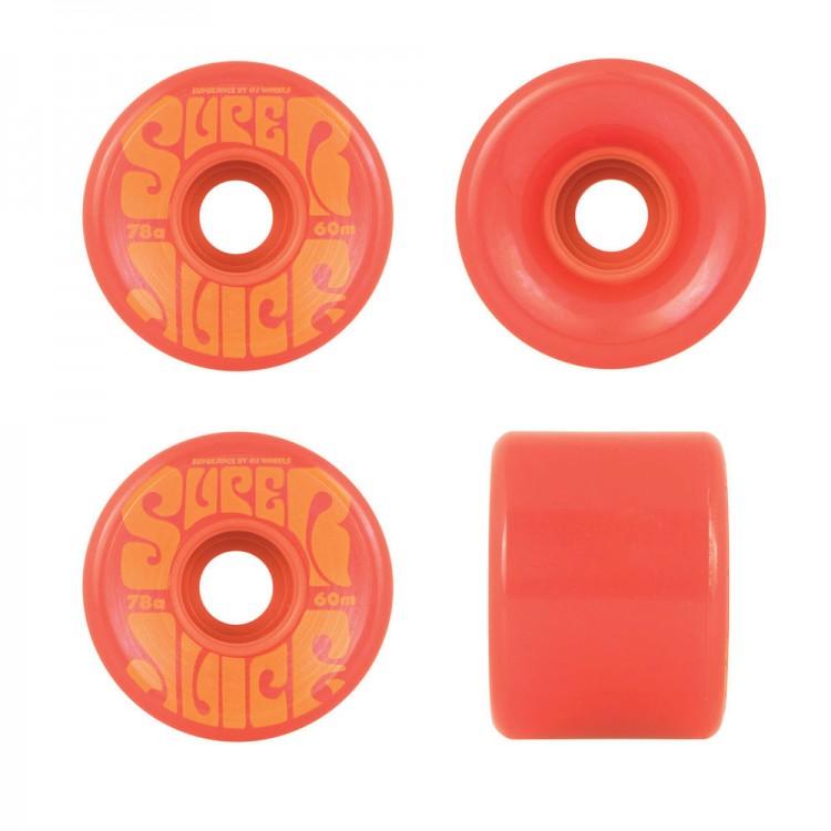 Купить Колеса Для Скейтборда OJ Super Juice Red, Китай