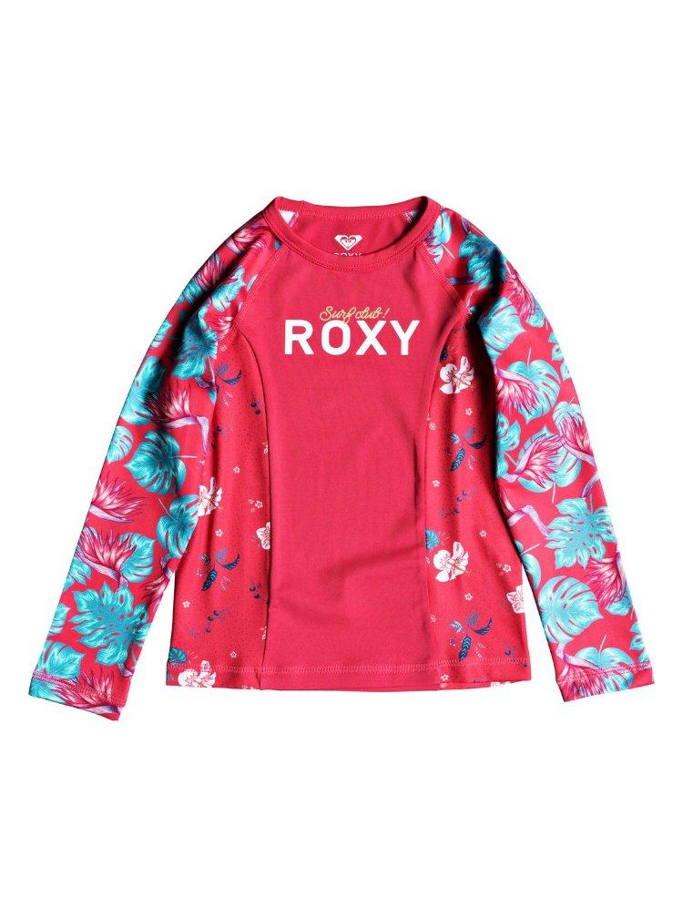 Купить Гидрофуфайка для девочек ROXY Simply Roxy Ls K Rouge Red Abyssal Tropical, Вьетнам