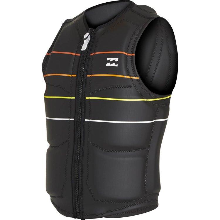 Гидромайка BILLABONG Momentum Wake Vest SS18 Black  - купить со скидкой