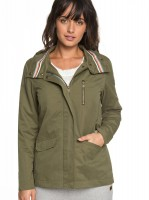 Куртка ROXY Lighteningstrik J Burnt Olive