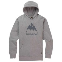 Худи BURTON Classic Mountain High Gray Heather