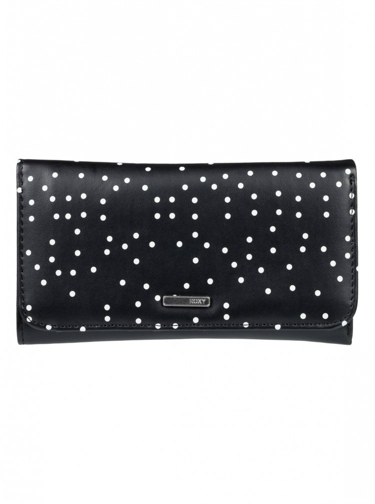 Купить Кошелек ROXY My Long Eyes J True Black Dots For Days, Китай