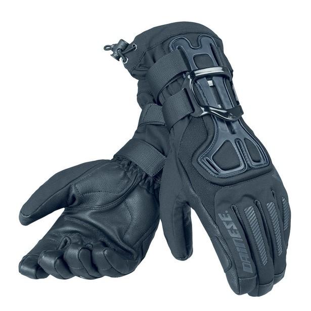 Перчатки с защитой для сноуборда DAINESE D-Impact 13 D-Dry Glove Black/Carbon 2020 фото